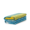 Ekko Throw Blanket Yellow/Dusty Blue