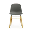 Form Chair, Grey/Oak