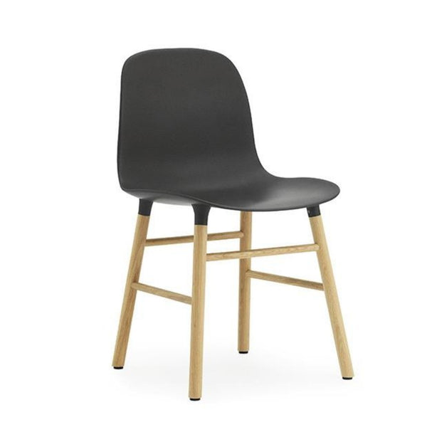 Form Chair, Black/Oak