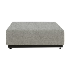 COPP Footstool, 620 light grey felt