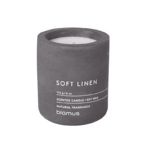 Scented Candle, Small, Soft Linen