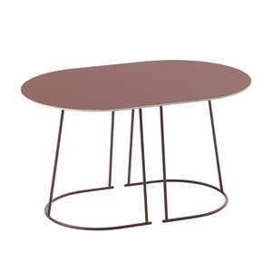 Airy Coffee Table, Small, Plum