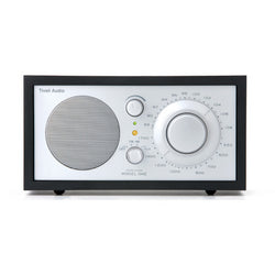 Model One Table Radio, Black/Silver