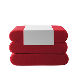 BINGO, w/ metal tray, 588 red felt
