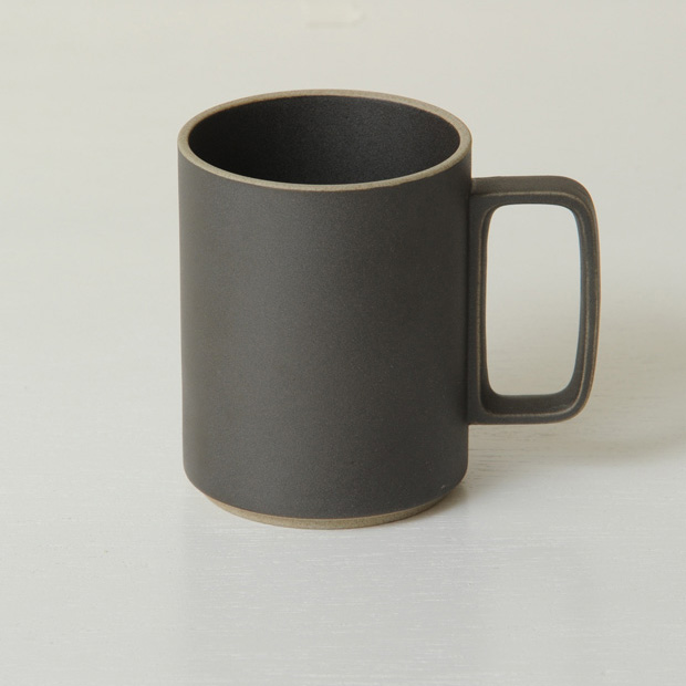 Hasami Porcelain Mug, 15oz Black