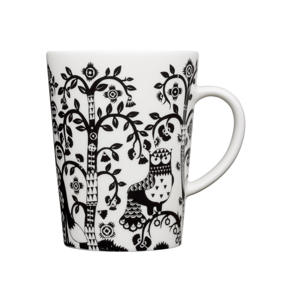 Taika Mug White/Black, 16 oz