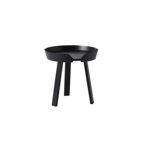 Around Coffee Table, Small, Black
