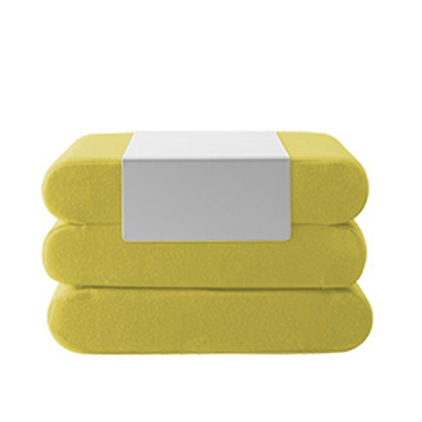 BINGO, w/ metal tray, 847 yellow melange felt
