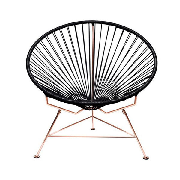Condesa Chair, Black Cord/Copper Frame