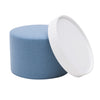 DRUMS, pouf high 45 x 40 cm, sand nordic 483