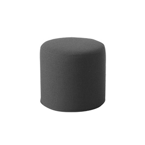DRUMS, pouf high 45x40 cm, medium grey 623 felt