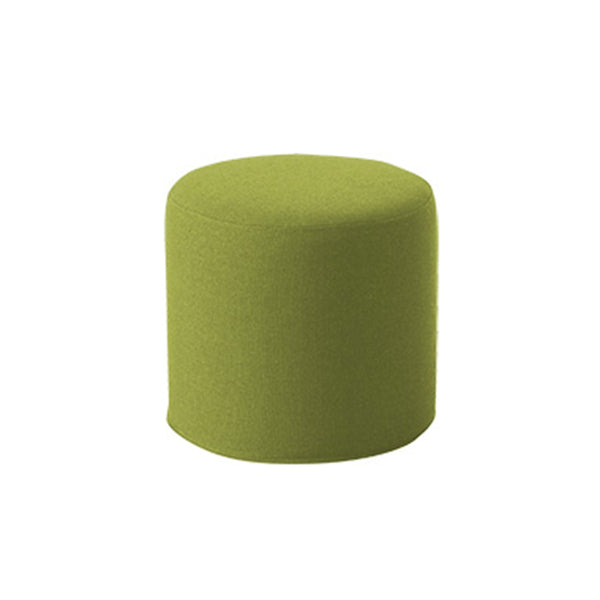 DRUMS, pouf high 45 x 40 cm, lime felt 855