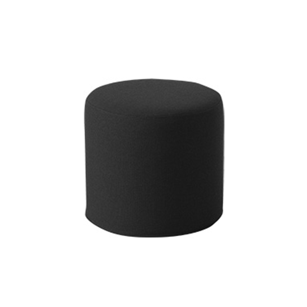 DRUMS, pouf high 45 x 40 cm, anthracite nordic 484