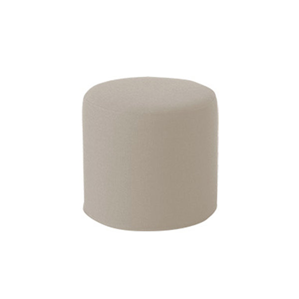DRUMS, pouf high 45 x 40 cm, light grey nordic 485