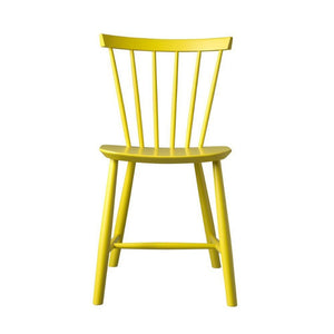 J46 Chair Poul Volther, Yellow