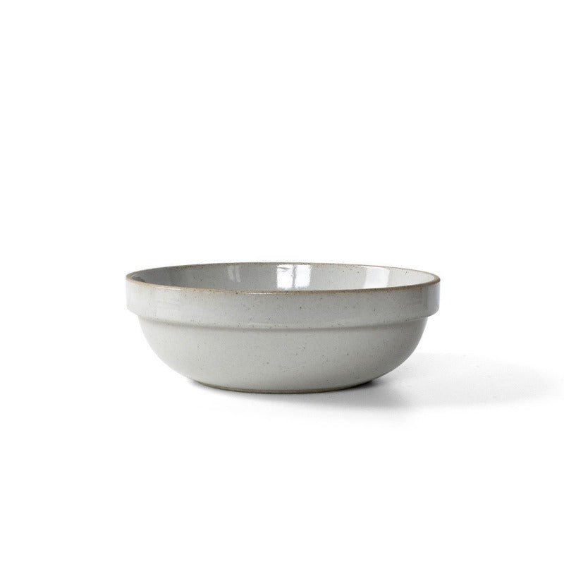 "Hasami Bowl Round 7.25"",  Gloss Grey"