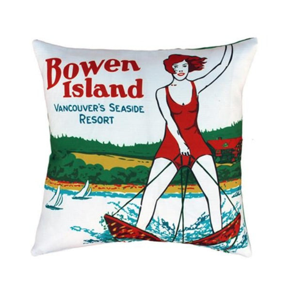 MOV Bowen Island Throw Pillow