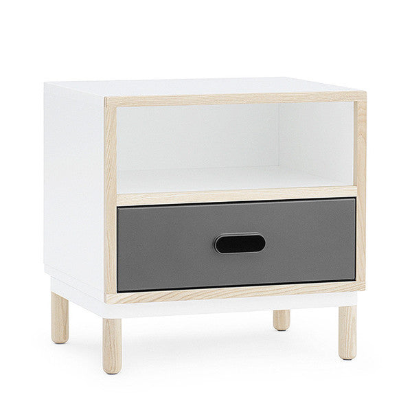 Kabino Bedside Table, Grey