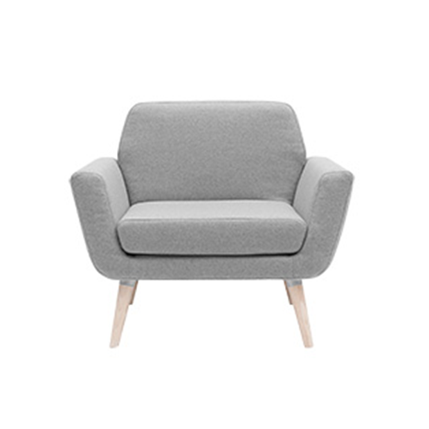 Scope chair, Light Grey Felt 620