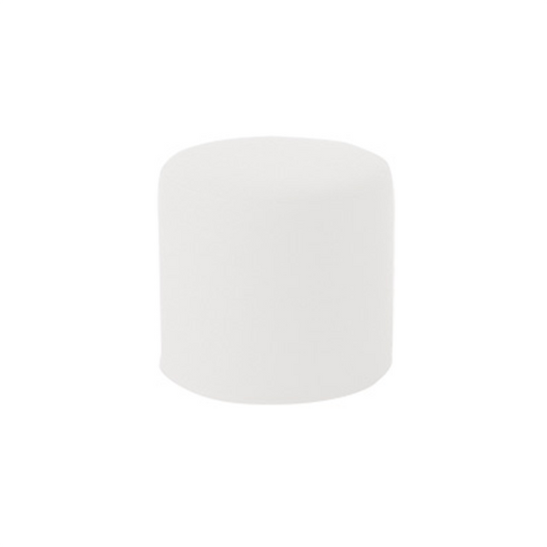DRUMS, pouf high 45 x 40 cm, matador white 775