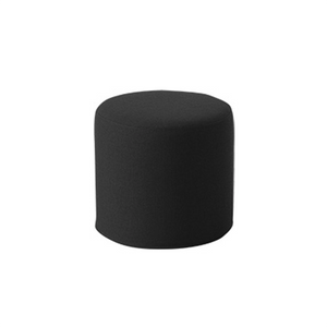 DRUMS, pouf high 45 x 40 cm, matador black 776