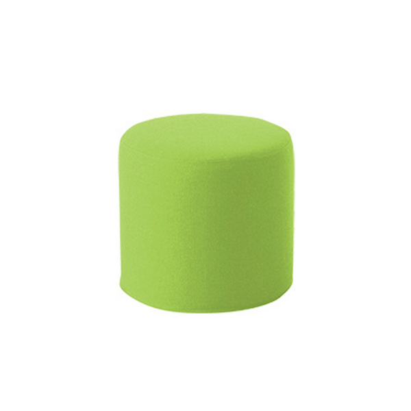 DRUMS, pouf high 45 x 40 cm, Lime Valencia 266