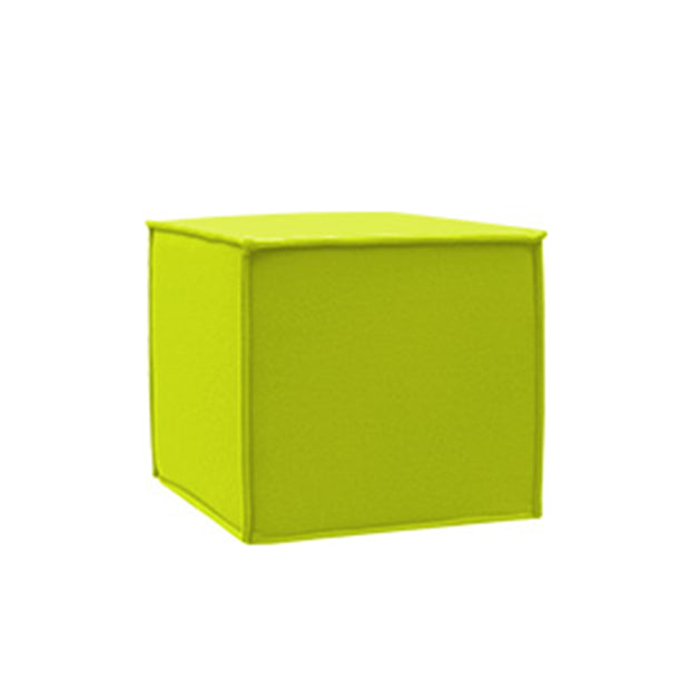 SPACE pouf, lime punch felt 579
