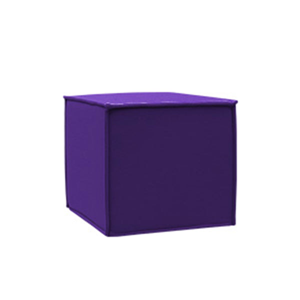 SPACE pouf, 581 purple felt