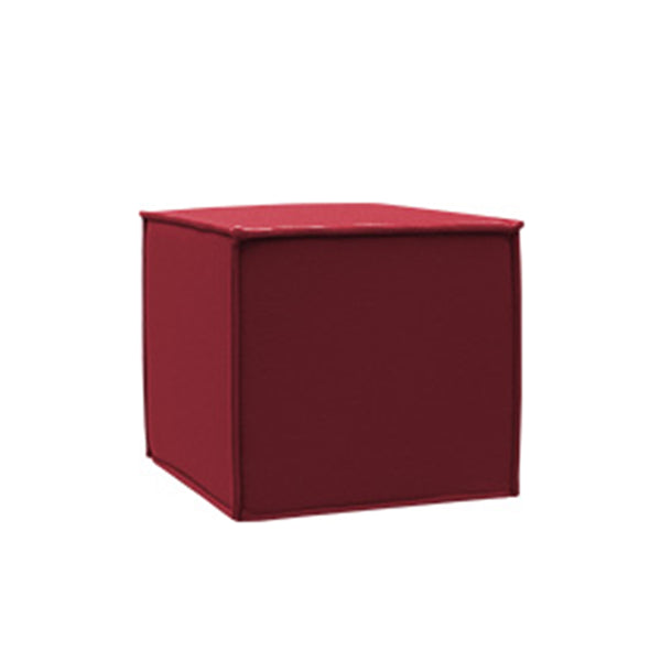 SPACE, Pouf, 622 red, Felt
