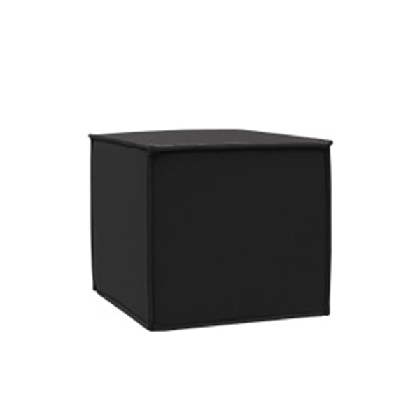 SPACE pouf, black felt 636