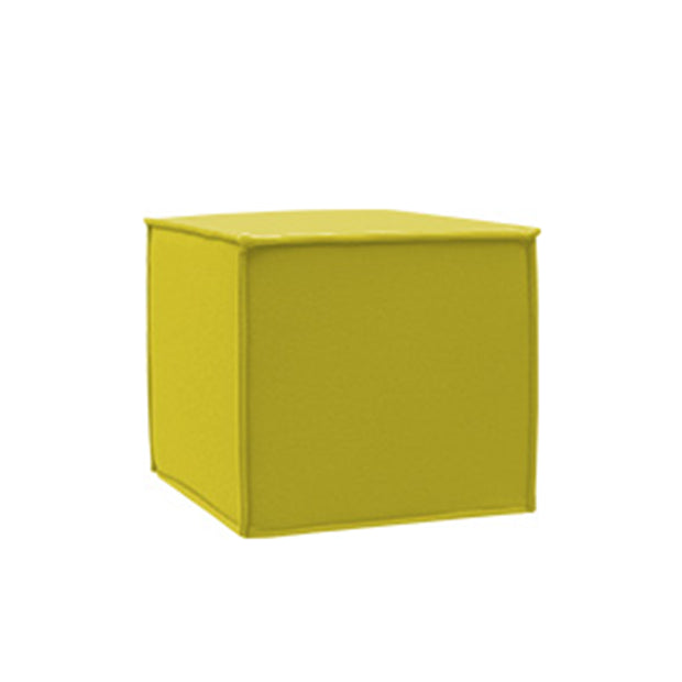 SPACE Pouf, yellow melange felt 847