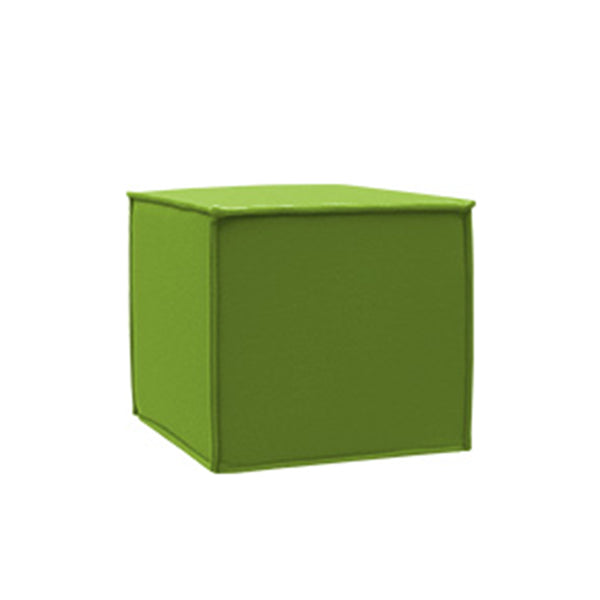 SPACE pouf, 848 green melange felt