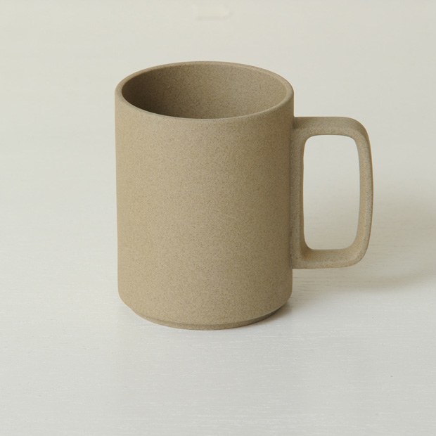 Hasami Porcelain Mug, 15oz Brown