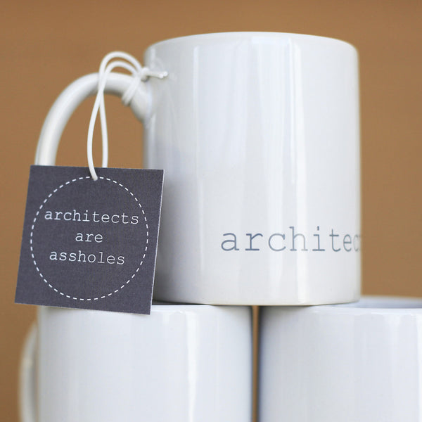 Architects Are Assholes Mug