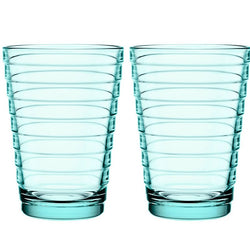 Aino Aalto Tumbler, 11 oz, Sea Blue, Set of 2