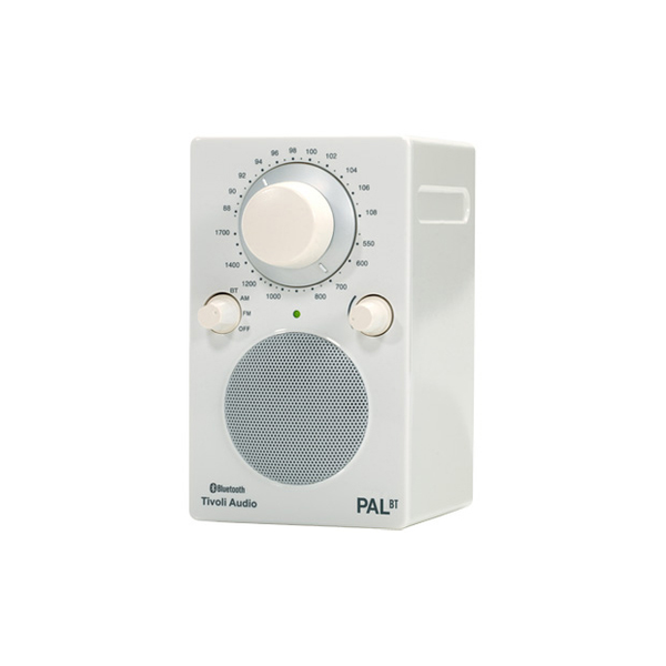 PAL Bluetooth Radio, Gloss White