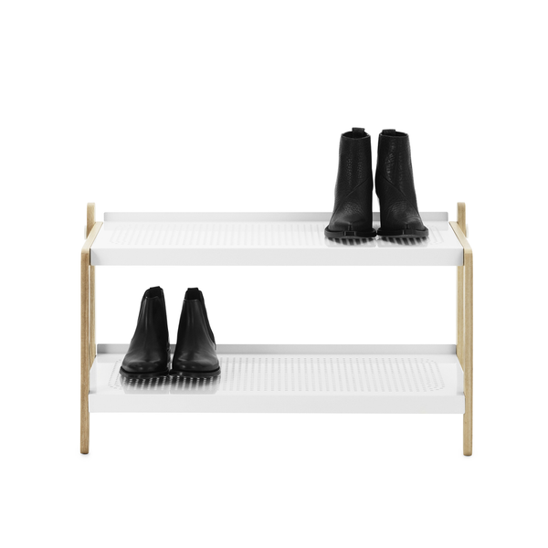 Sko Shoe Rack, White