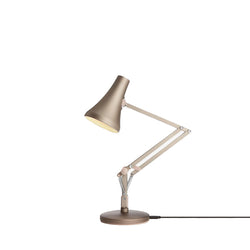 90 mini mini desk lamp, warm silver/blush