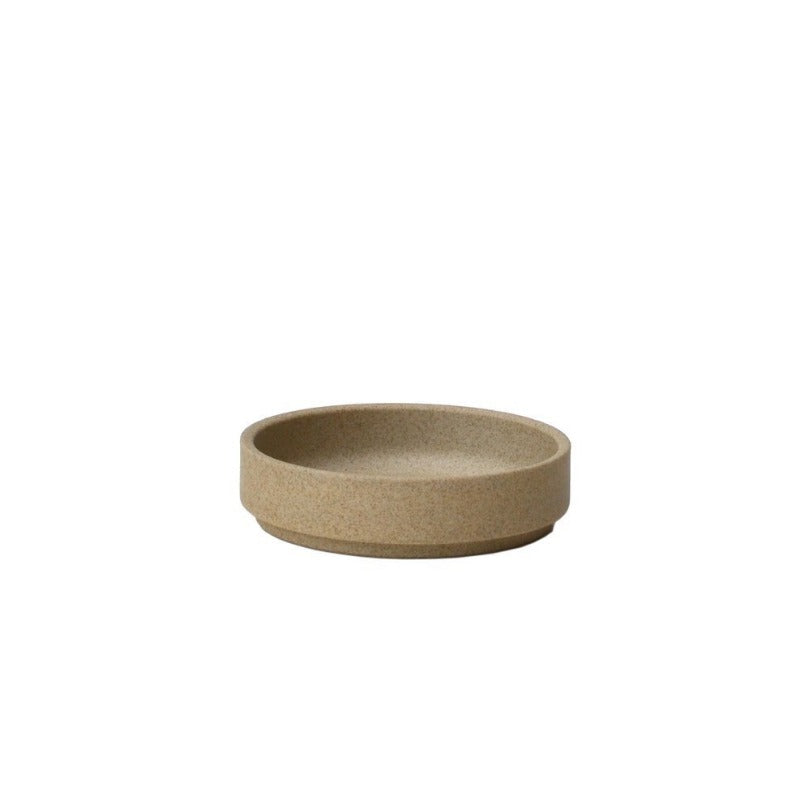 "Hasami Porcelain Plate, 3.3"" Brown"