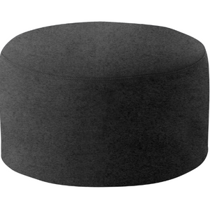 DRUMS, pouf large 60 x 30 cm, anthracite felt 610