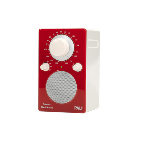 PAL Bluetooth Radio, Gloss Red