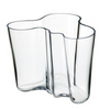 Aalto Vase 6.25 in, Clear