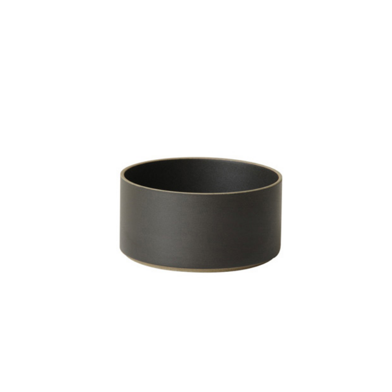 Hasami Porcelain Bowl, Small High, Black