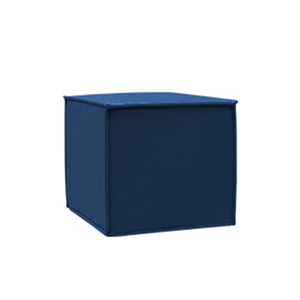 SPACE Pouf, 859 Dark Blue, Felt