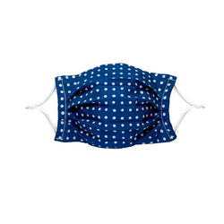 Face Mask, JImbei Pattern, Indigo