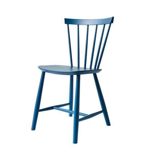 J46 Chair Poul Volther, Cobalt Blue