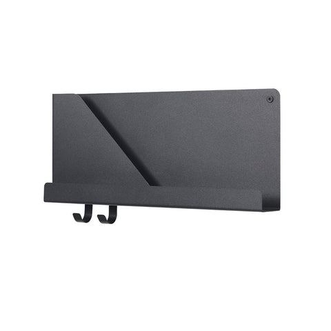 Folded Shelves Medium Black