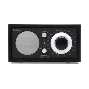 Model One Bluetooth Radio, Black/Black- Silver