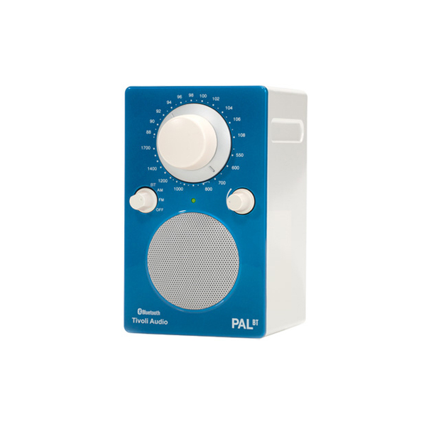 PAL Bluetooth Radio, Gloss Blue