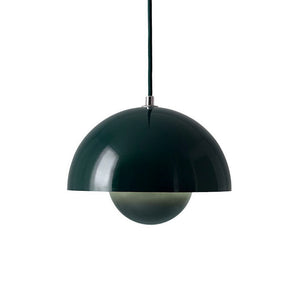 Flowerpot Pendant VP1, Dark Green